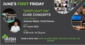 thumbnails Junes's First Friday with Cure Concepts - 4th June 11.30 a.m. to 12 p.m.