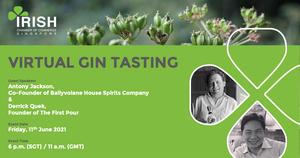 thumbnails Virtual Gin Tasting - 11th June 6 p.m. to 7 p.m. SGT